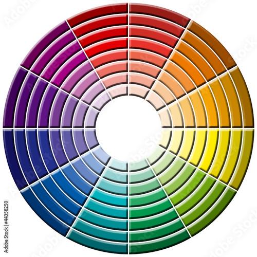 Roue chromatique photo libre de droits sur la banque d - Roue chromatique peinture ...