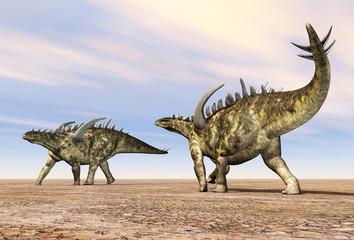 Dinosaurier Gigantspinosaurus