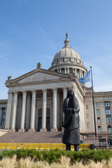 Wall Mural - Oklahoma State House and Capitol Building