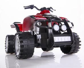 Modified toy ATV
