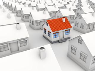 target house market