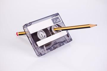 cinta cassette | vintage 60 min casete