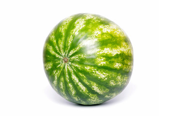 Fresh water melon on white background