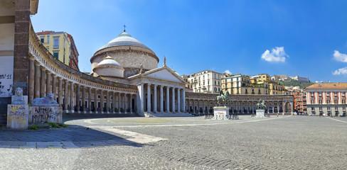 Papiers peints Naples Napoli, Piazza del Plebiscito