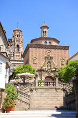 The Poble Espanyol. Spanish Town.