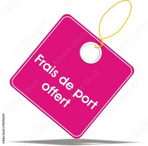 quot 233 tiquette frais de port offert quot fichier vectoriel libre de droits sur la banque d images