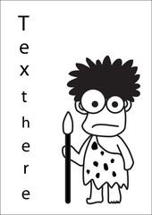 Hunter vector cartoon