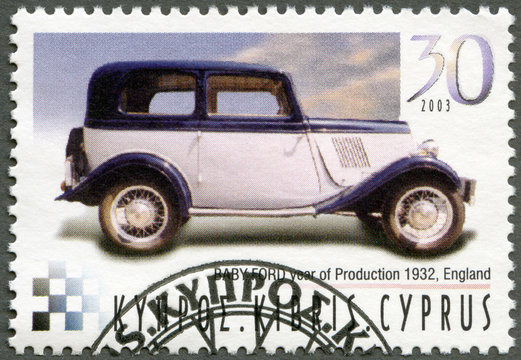 CYPRUS - 2003 : shows Baby Ford, year of production 1932