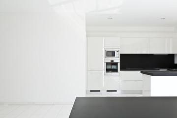 interior home, new kitchen, open space