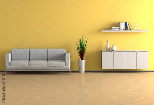 Wohnzimmer gelb stockfotos und lizenzfreie bilder auf bild 44414414 - Wohnzimmer gelb ...