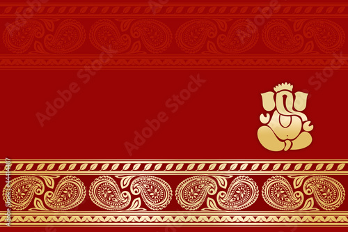Quot Hindu Wedding Card India Quot Stock Photo And Royalty Free