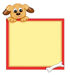 cornice con cane