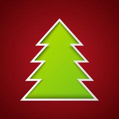Paper Xmas tree