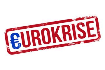 Eurokrise - Stempel