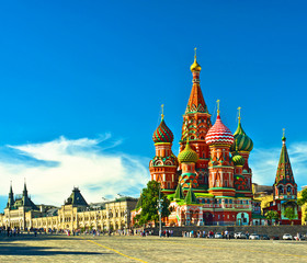 St Basils cathedral; Moscow, Russia