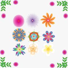 Flower of frame