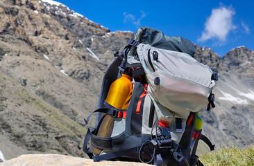 trail dans les alpes,sac à dos,randonnée,vacances