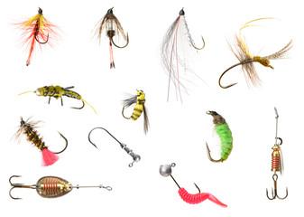set fly fishing object
