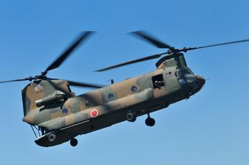 輸送ヘリCH-47J