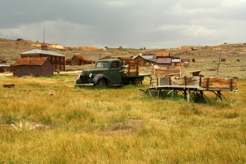 Wall Mural - Bodie