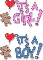 baby announcement shower
