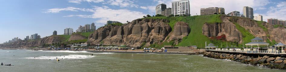 Pazifikküste bei Lima/Peru