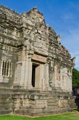 Some Part of The Principal Tower at Phimai Historical Park