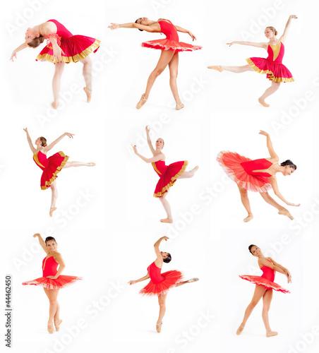 Collage di ballerine di danza classica immagini e for Immagini di ballerine di danza moderna