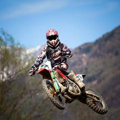 Fototapete - free style motocross