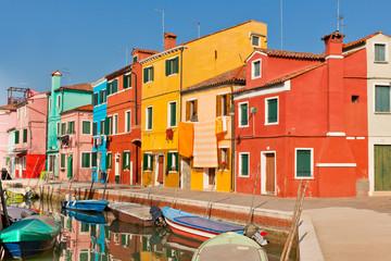Burano's Bright Houses