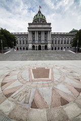 Wall Mural - Pennsylvania State House & Capitol Building in Harrisburg, PA