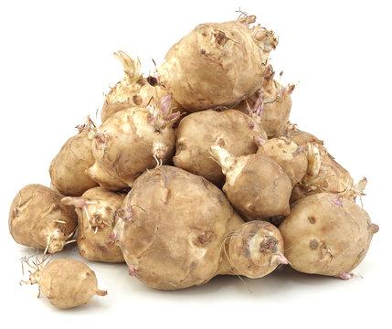 Sunchoke vegetable