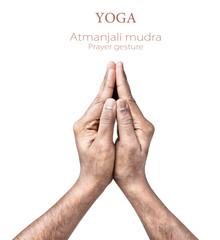 atmanjali prayer mudra