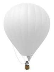 Montgolfière sur fond blanc 1