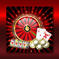 casino - slotmachine - roulette - black jack