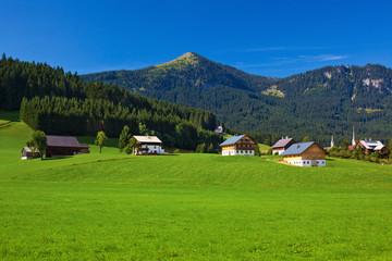 Wall Mural - Alps village