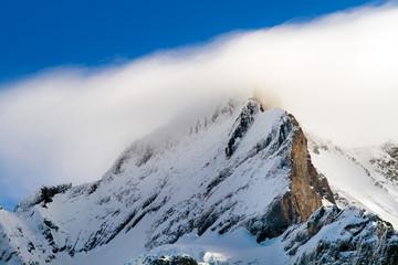 Summit of jungfrau - top of Europe