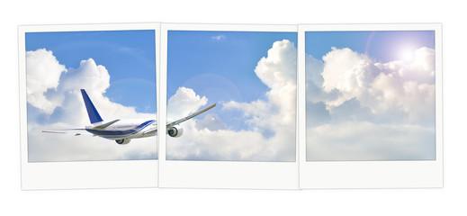 Polaroid  avion