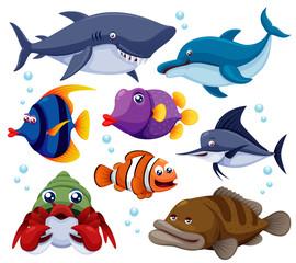 illustration of fish sea vector