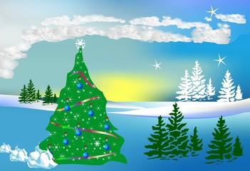 Bożonarodzeniowa kompozycja