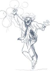 happy clown (sketch)