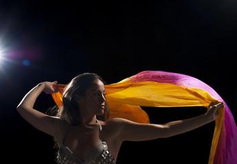 Dancer with headscarf