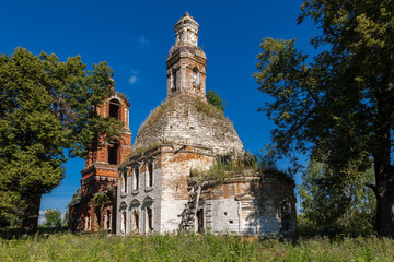 Church of the Holy Virgin in Village Avdulovo, Moscow Region, Ru