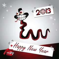 Happy New Year! year snakes