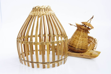 Thailand bamboo fishing trap