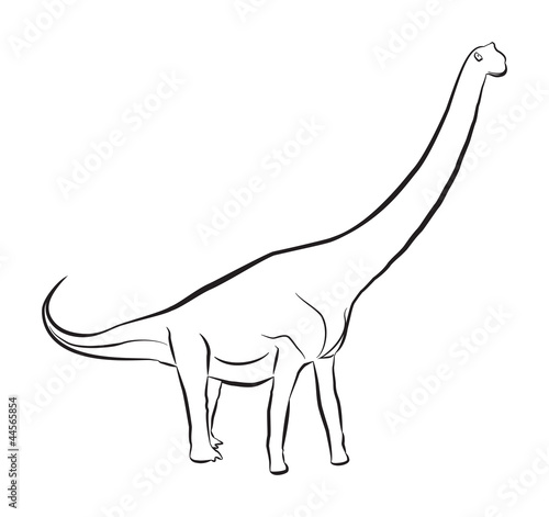 Sauroposeidon Dinosaur Stock Image And Royalty Free Vector Files On