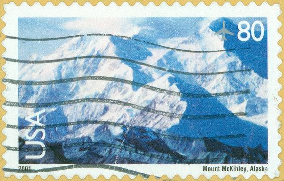 image of Mount McKinley in Alaska