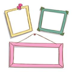 cute frame doodle