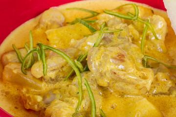 Yellow Curry Chicken (Massaman Curry Chicken)