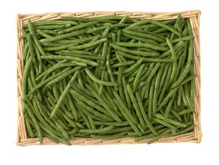 Fagiolini verdi spuntati